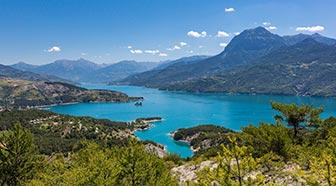 Lac Serre Poncon : Lac de serre poncon youtube