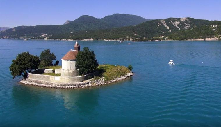 Lac Serre Poncon : Lac de serre ponçon u wikipedia
